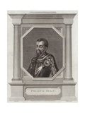 King Philip II of Spain Giclee Print by George Vertue