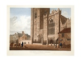 West Front of St. Patrick's Cathedral, Dublin, 1793 Giclee Print by James Malton