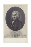 Luigi Boccherini, Italian Composer and Cellist (1743- 1805) Giclee Print by Robert Lefevre