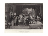 Falstaff and His Friends Giclee Print by Charles Robert Leslie