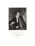 Thomas Campbell Giclee Print by Daniel Maclise