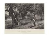At Burnham Beeches Giclee Print by Myles Birket Foster