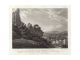 Wigmore Castle Giclee Print by Thomas Hearne