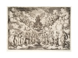 The Harmony of the Spheres, 1589-92 Giclee Print by Agostino Carracci