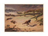 Hunting, 1871 Giclee Print by Ernest Henry Griset
