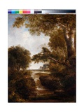 A Waterfall, 1833-37 Giclee Print by Thomas Doughty