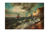 The Needles, Isle of Wight Giclee Print by Thomas Grimshaw
