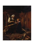 The Blacksmith, 1865 Giclee Print by Olaf Isaachsen