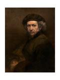 Self-Portrait, 1659 Giclee Print by  Rembrandt van Rjin