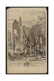 Evander and Aeneas at Palentium Giclee Print by Francis Cleyn