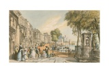 Chelsea with Part of the Old Church, and Sir Hans Sloane's Tomb Giclee Print by William Parrott
