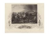 Battle of Waterloo Giclee Print by Luke Clennell