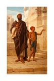 The Blind Beggar, 1872 Giclee Print by Frederick Goodall