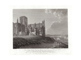 Priory Church at Haddington Giclee Print by Thomas Hearne