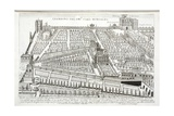View of the Gardens of Cardinal Montalto, C.1620 Giclee Print by Matthaus Greuter