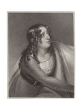 Miss Duncan in the Character of Florence in the Curfew Giclee Print by Henry Singleton