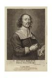 Peter Meert, Flemish Painter. Engraving by Cornelis Van Caukercken Giclee Print by Cornelius Van Caukercken