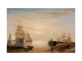 View of Gloucester Harbor, 1852 Giclee Print by Fitz Henry Lane