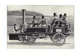 The Yarrow-Hilditch Steam Carriage Giclee Print by  English School