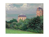 Villas at Villers-Sur-Mer Giclee Print by Gustave Caillebotte