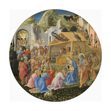 The Adoration of the Magi, C.1440-60 Giclee Print by  Fra Angelico