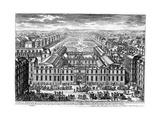 The Palais-Royal, Paris, C. 1680 Giclee Print by Adam Perelle
