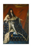 Louis Xiv, before 1685 Giclee Print by Henri Testelin