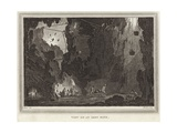 View of an Iron Mine Giclee Print by Conrad Martin Metz