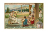 Archaic Hellenic Script Giclee Print