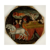 Triumph of Love: a Desco De Parto, C.1470 Giclee Print