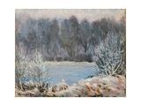 Winter Landscape Giclee Print by Alexander Altmann