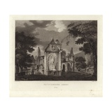 Pluscardine Abbey Giclee Print by John Claude Nattes