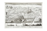 View of the Gardens of the Villa Mattei Giclee Print by Giovanni Domenico de' Rossi