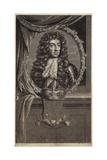 Portrait of King Charles II Giclee Print by Adriaan van der Werff