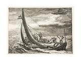 A Man Who Lacks Faith, Illustration from 'Emblemata of Zinne-Werk' by Johannes De Brune… Giclée-Druck von Adriaen Pietersz van de Venne