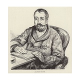 Portrait of Anatole France Giclee Print