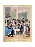 Feasting in the Saloon, Plate 5 from 'Theatrical Pleasures', 1827 Giclee Print by Theodore Lane