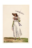 A Ladies' Summer Dress, 1779 Giclee Print by Antoine Charles Horace Vernet