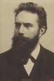 Wilhelm Roentgen (1845-1923), German Physicist Photographic Print