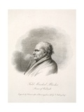 Field Marshall Blucher, Prince of Walstadt, Engr J. Swaine, Pub. J. Farrer, 1815 Giclee Print by Frederich Rehberg