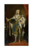 King George II of Great Britain and Ireland, C.1750-59 Giclee Print by John Shackleton