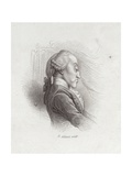 Thomas Augustine Arne, English Composer (1710-1778) Giclee Print by Henry Adlard