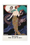 Dogaresse - Evening Gown by Jenny, 1919-21 Giclee Print by Georges Barbier