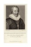 William Alexander, 1st Earl of Stirling (C 1570  12 September 1640) Giclee Print