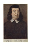 John Milton (1608-1674), English Poet Giclee Print by Cecil Watson Quinnell