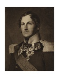 King Leopold of Belgium Giclee Print by Franz Xaver Winterhalter