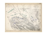 Map of the Battle of Novi, Published by William Blackwood and Sons, Edinburgh and London, 1848 Giclee Print by Alexander Keith Johnston