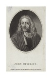 John Hevelius Giclee Print by Daniel the Younger Schultz
