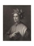 Dante Alighieri Giclee Print by Agostino Tofanelli