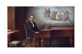 Portrait of Bedrich Smetana Giclee Print